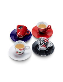 Coffret History Colection 4 Tasses espressos